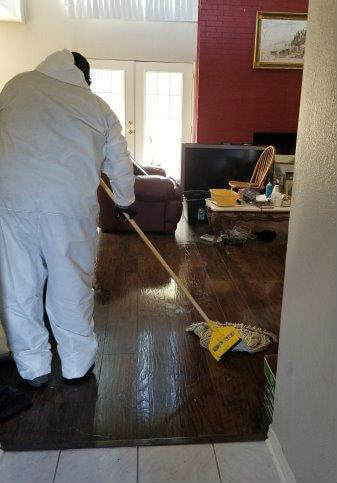 Blood Spill Cleanup Service
