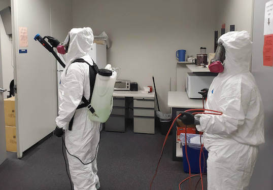 Biohazard Cleaning Houston