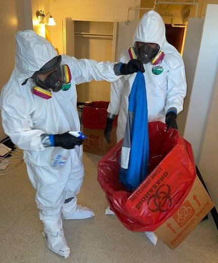 Forensic Clean Up