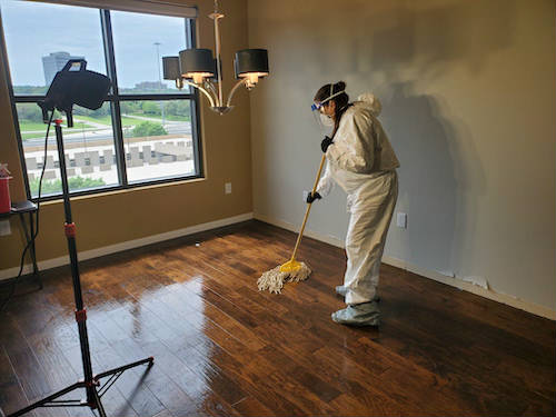 Homicide Clean Up Houston